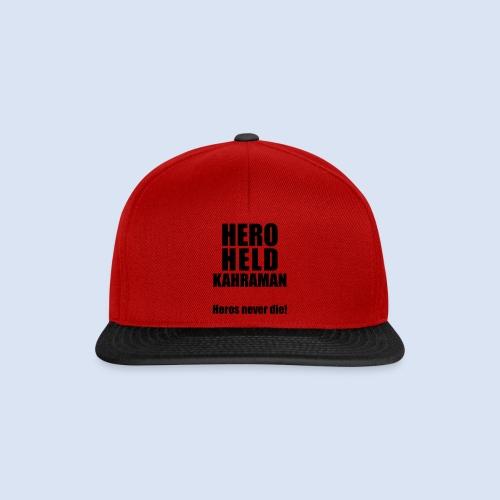 Hero Shirt Erdogan Shirt - Turkey Türkei #Erdogan #Kahraman - Snapback Cap