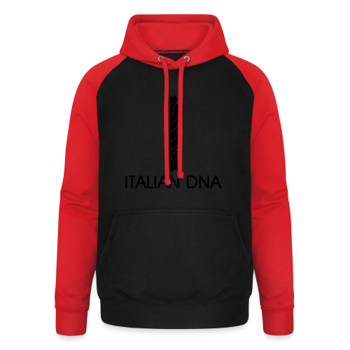 Italian DNA Shirt - Unisex Baseball Hoodie