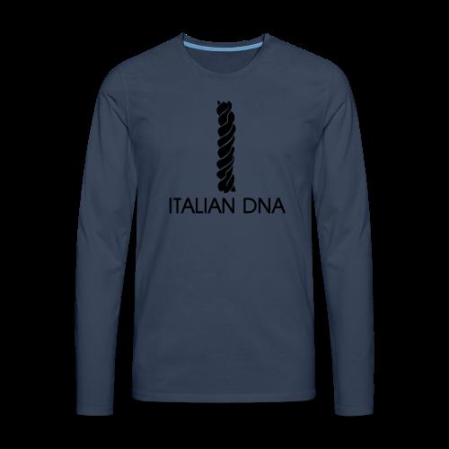 Italian DNA Shirt - Männer Premium Langarmshirt