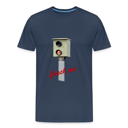 Das Blitzer Shirt flash me - Männer Premium T-Shirt