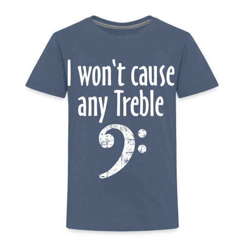I won't cause any Treble Bass Design