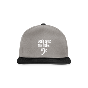 I won't cause any Trouble Bass T-Shirt - Snapback Cap