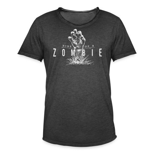 Rise of a Zombie - Männer Vintage T-Shirt