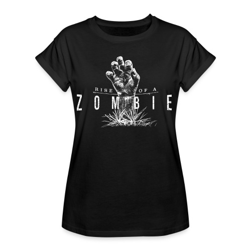 Rise of a Zombie - Frauen Oversize T-Shirt
