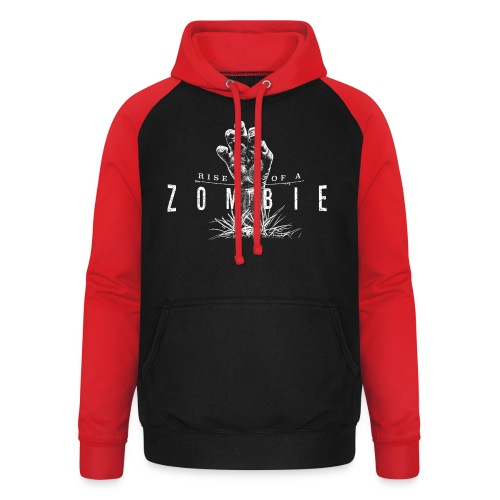 Rise of a Zombie - Unisex Baseball Hoodie