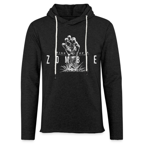 Rise of a Zombie - Leichtes Kapuzensweatshirt Unisex