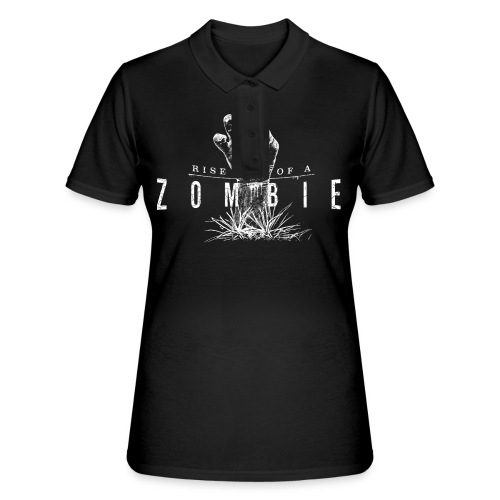 Rise of a Zombie - Frauen Polo Shirt