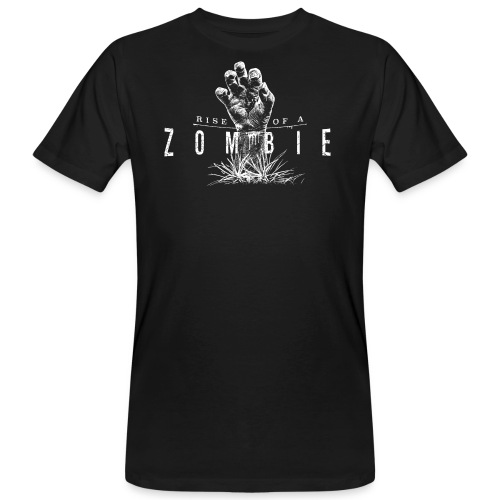 Rise of a Zombie - Männer Bio-T-Shirt