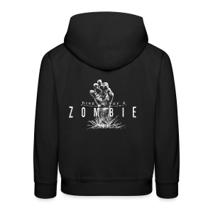 Rise of a Zombie - Kinder Premium Hoodie