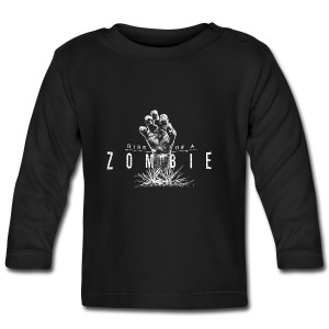Rise of a Zombie - Baby Langarmshirt