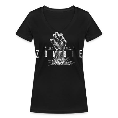 Rise of a Zombie - Frauen Bio-T-Shirt mit V-Ausschnitt von Stanley & Stella