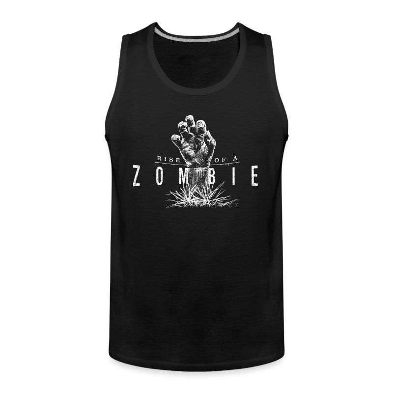 Rise of a Zombie - Männer Premium Tank Top