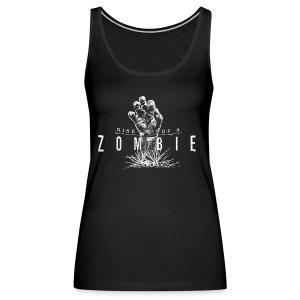 Rise of a Zombie - Frauen Premium Tank Top