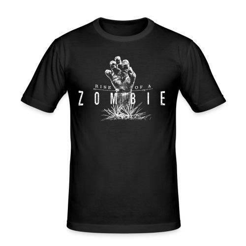 Rise of a Zombie - Männer Slim Fit T-Shirt