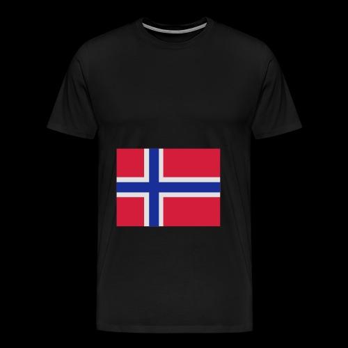 Norwegian Team Member BAG - Premium T-skjorte for menn