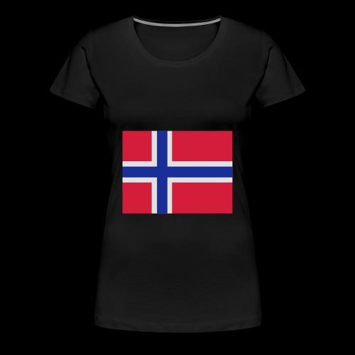 Norwegian Team Member BAG - Premium T-skjorte for kvinner