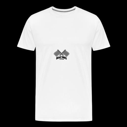 Racing Team - Premium T-skjorte for menn