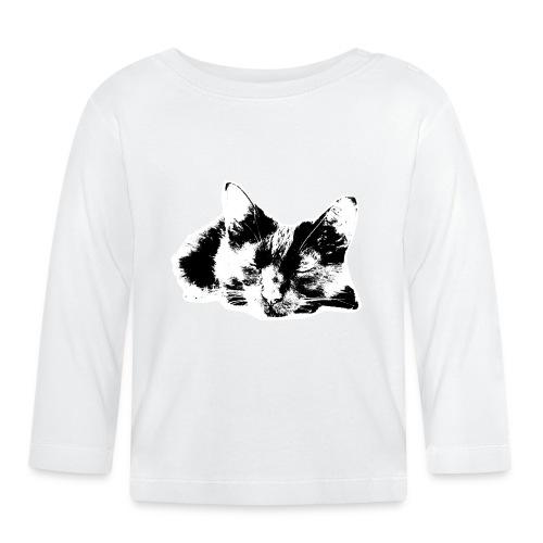 Kater-1 - Baby Langarmshirt