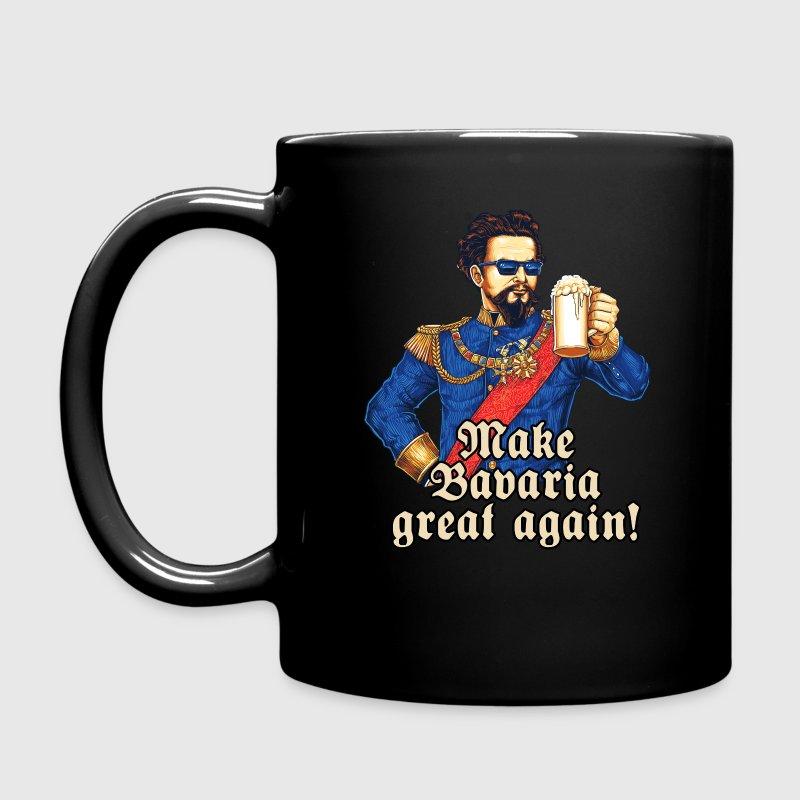 Bavaria great again II - King Ludwig drunk - RAHMENLOS gift fun shirt Tassen & Zubehör - Tasse einfarbig
