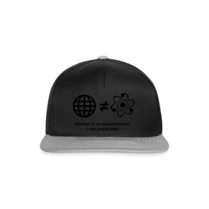 Internet Science Shirt - Snapback Cap