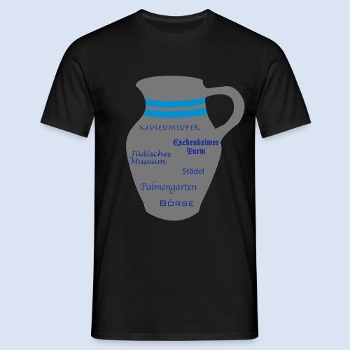 FRANKFURT DESIGN - Stadtbesichtigung #Bembel - Männer T-Shirt