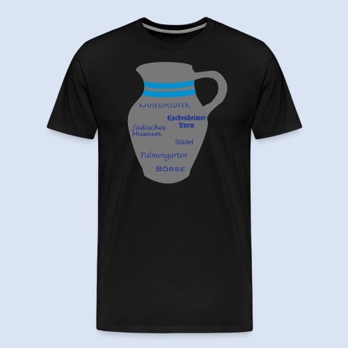 FRANKFURT DESIGN - Stadtbesichtigung #Bembel - Männer Premium T-Shirt