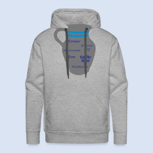 FRANKFURT DESIGN - Stadtbesichtigung #Bembel - Männer Premium Hoodie