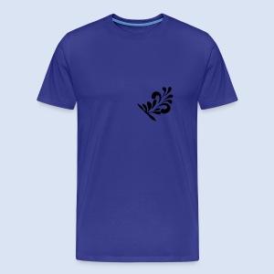 FRANKFURT DESIGN - Hoddie #Bembelschwung - Männer Premium T-Shirt