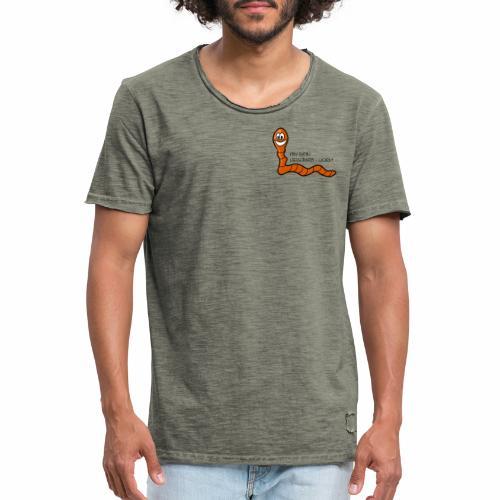 Lieblings-Wurm - Männer Vintage T-Shirt