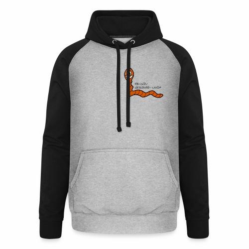 Lieblings-Wurm - Unisex Baseball Hoodie