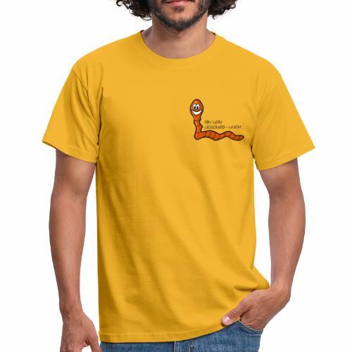 Lieblings-Wurm - Männer T-Shirt