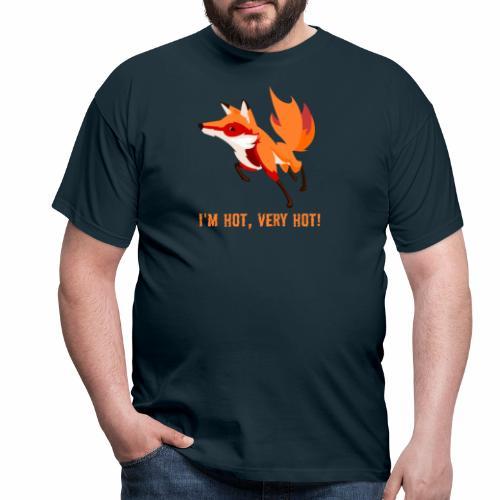 I'm hot,very hot. - Männer T-Shirt
