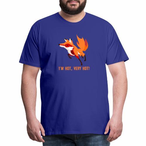 I'm hot,very hot. - Männer Premium T-Shirt