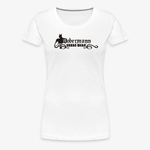 Tshirt Dobermann Gothic - T-shirt Premium Femme