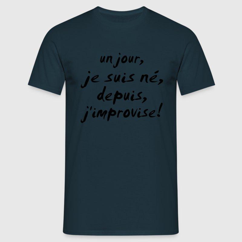 j'improvise - T-shirt Homme
