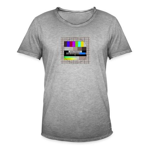 Schutzschild - Männer Vintage T-Shirt