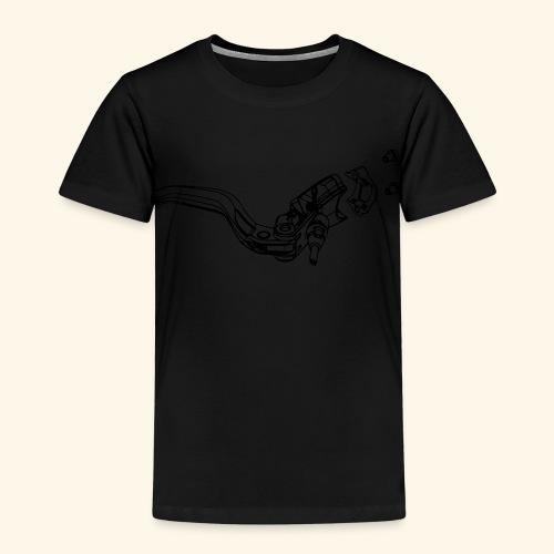 Mountainbike Brake  - Kinder Premium T-Shirt
