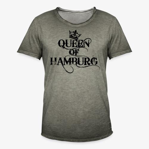 Queen of Hamburg Krone Kiez Königin Tank Top - Männer Vintage T-Shirt