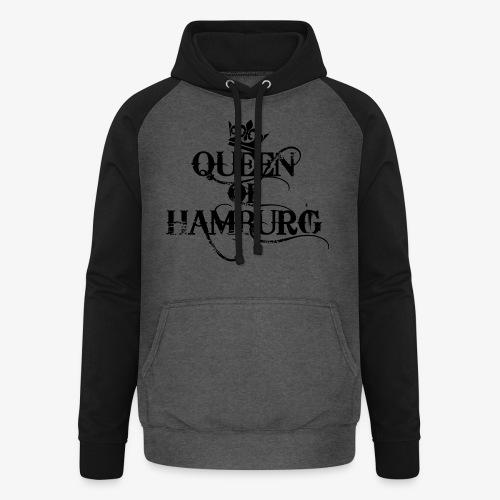 Queen of Hamburg Krone Kiez Königin Tank Top - Unisex Baseball Hoodie