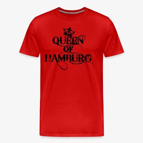 Queen of Hamburg Krone Kiez Königin Tank Top - Männer Premium T-Shirt