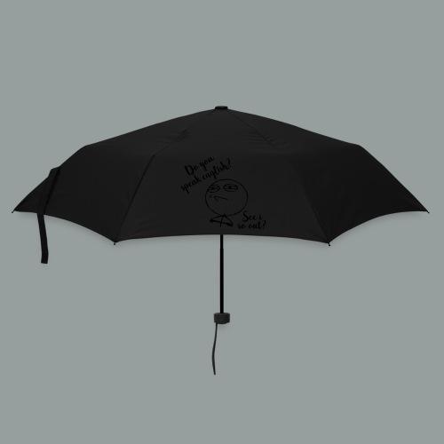 Do you speak english-2017 - Regenschirm (klein)