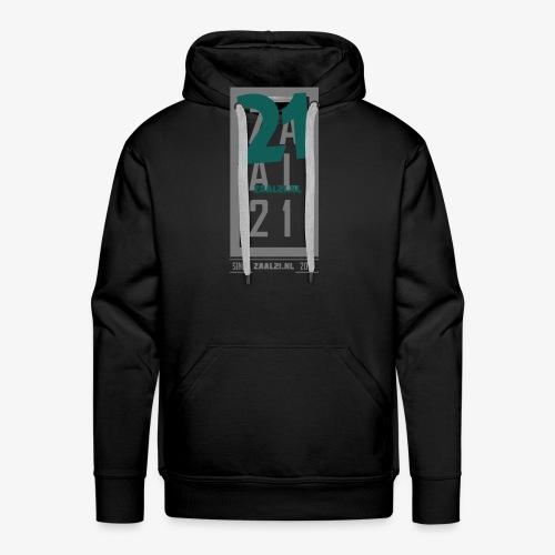 Zaal21 cap 1 - Mannen Premium hoodie