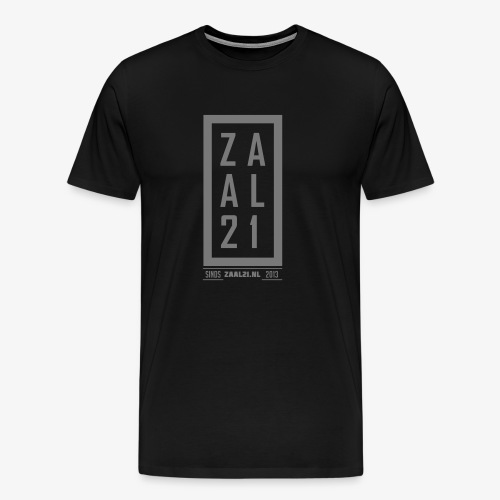 Zaal21 cap 1 - Mannen Premium T-shirt