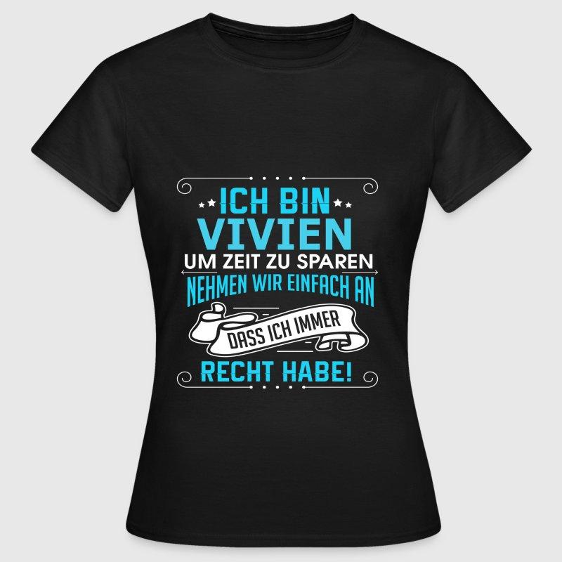 VIVIEN T-Shirts - Frauen T-Shirt
