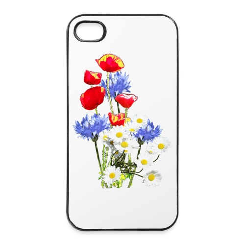 Mohn-Kornblumen,Margerite - iPhone 4/4s Hard Case