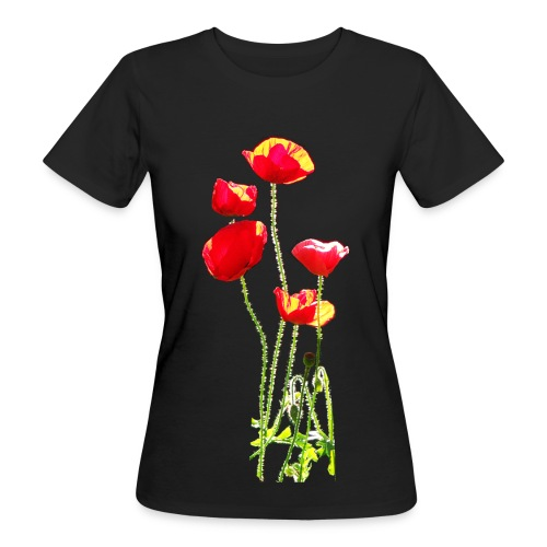 Mohn - Frauen Bio-T-Shirt