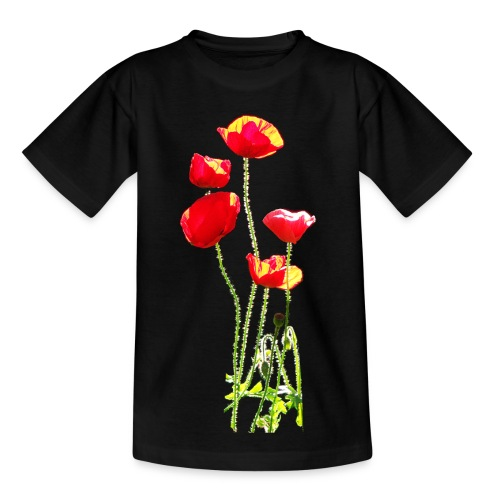 Mohn - Kinder T-Shirt