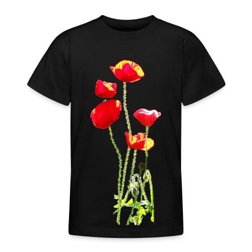 Mohn - Teenager T-Shirt