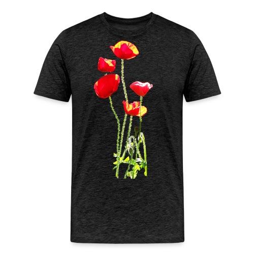 Mohn - Männer Premium T-Shirt