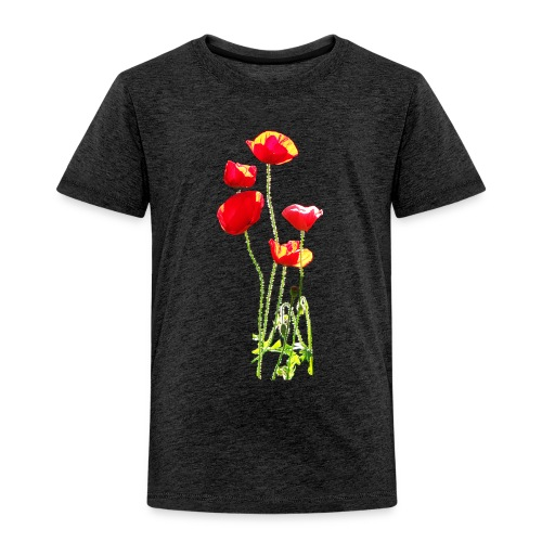Mohn - Kinder Premium T-Shirt